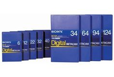 Sony BCT-D40 Digital Betacam Format 40 Minute Tape by Sony. $15.15. Sony 40 MIN DIG. BETACAM BLANK TAPE part number BCTD40 Compatible with:. Save 39% Off!