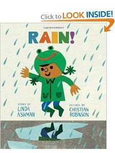 Amazon.com: Rain! (9780547733951): Linda Ashman, Christian Robinson: Books