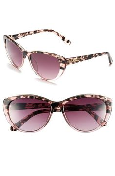 d30d70622c Lilly Pulitzer®  Marianne  59mm Cat Eye Sunglasses available at  Nordstrom  Tortoise Shell