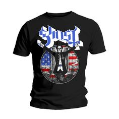 Ghost - Papa Elected https://ghost.backstreetmerch.com/t-shirts/papa-elected I have this. Love it.