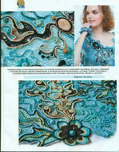 Irish crochet &: IRISH LACE BLOUSE ... БЛУЗА ИРЛАНДСКИМ КРУЖЕВОМ