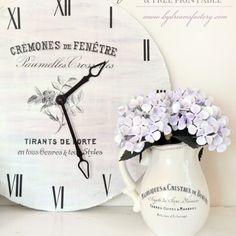 DIY LARGE FRENCH CLOCK / TUTORIAL CEAS FRANTUZESC MARE