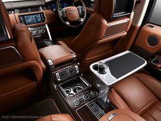 2017 Range Rover interior