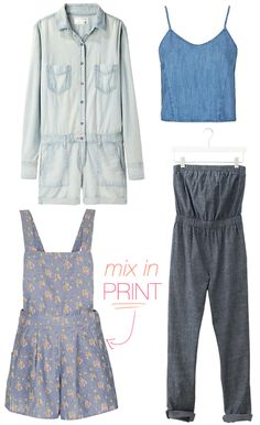 summer style - chambray