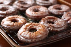 Old-Fashioned Sour Cream Doughnuts...must try these!
