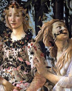 Botticelli. Le printemps, détail 2 (v. 1482)