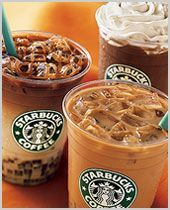 Starbucks Recipes for almost every drink they have. this is going to save me hundreds hahaha