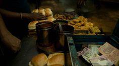Photographs from the streets of Mumbai by Slogan Murugan aka Gopal MS Mumbai Street Food, Snack Recipes, Snacks, Hanuman, Indian Food Recipes, Desi, Drink, City, Illustration