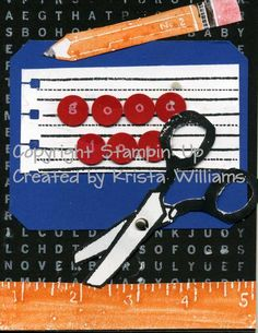 LSC219, Elementary Essentials by lovetostamp71 - Cards and Paper Crafts at Splitcoaststampers