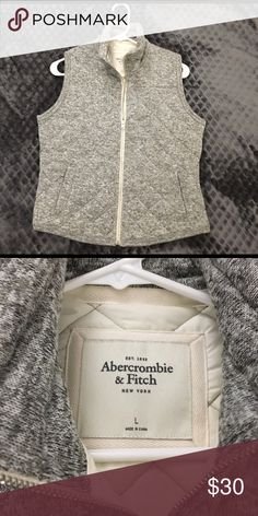 Abercrombie & Fitch Vest Light weight quilted vest. Worn once. Abercrombie & Fitch Jackets & Coats Vests