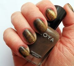 Zoya Emilia and Essence Gold fever