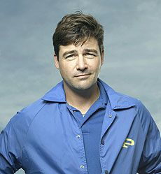Kyle Chandler as Coach Taylor...what a nice guy...or if you really want to go back...'Gary Hobson' from Early Edition...2 great shows!