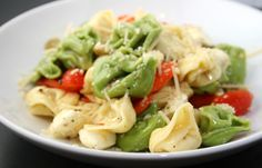 tortellini pasta salad - love this lemon vinaigrette dressing.