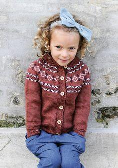 Nr 15 Amanda jakke pattern by Anita Brathetland Baby Cardigan, Summer Cardigan, Knitting For Kids, Baby Knitting, Rainbow Sweater, Inspiration For Kids, Lace Patterns, Diy Crochet, Tweed