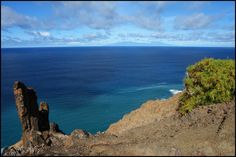 Alojera - La Gomera  - At the background The Island La Palma - Canary Islands - Atlantic ocean - By Chio.S