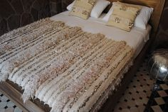 Beyond Marrakech: Moroccan Wedding Blankets, A Vanishing Tradition