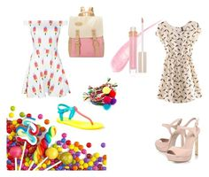 """Sweet"" by adri-98 on Polyvore featuring Soda, KG Kurt Geiger, Stila and Sweetlime"