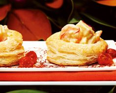 Saffron Fish Ragout in Puff Pastry