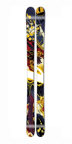 The Coda is a premium youth ski built with a wood core and full Cap construction for durability. The Coda is Armada's youth AR7 and the grom's gateway to shredding the park, pipe, and every run on the