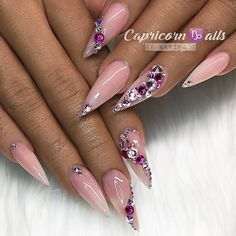 """2,643 Likes, 7 Comments - NAIL INSPO (@theglitternail) on Instagram: """": Picture and Nail Design by •• @nails_by_annabel_m •• Follow @nails_by_annabel_m for more…"""""""