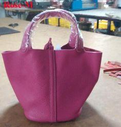 Women's bag bucket bag Genuine leather TOTE guaranteed 100% genuine leather bucket bags Brand Designer shoulder handbags