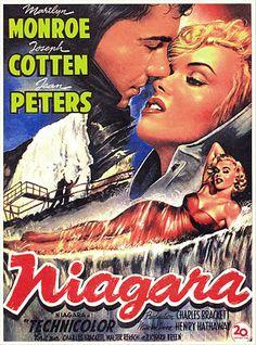 Niágara (Niagara) es una película estadounidense de 1953 dirigida por Henry Hathaway y con Marilyn Monroe, Joseph Cotten, Jean Peters, Max Showalter (1917 - 2000) y Richard Allan en los papeles principales.