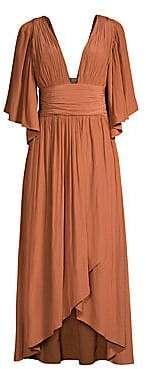 Plunging Neckline Dress, Ramy Brook, Necklines For Dresses, Wrap Dress, Women, Fashion, Hairdos, Moda, Fashion Styles
