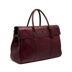 Piccadilly in Oxblood Natural Leather | family | Mulberry
