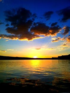 Sunset Lake Powell | sunsets