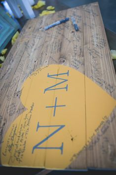 Guest Board (Guest Book Alternative) DIY Guest board