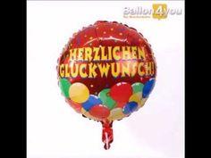 """Dieser Ballon bringt Stimmung mit! Konfetti, Luftschlangen, Luftballons - all das ist bei diesem Ballon mit auf die Hülle gedruckt! Und ein dickes """"Herzlichen Glückwunsch"""" ist natürlich auch noch dabei. Prima für Geburtstage, bestandene Prüfungen oder zu sonst einem Anlass zu dem man gratulieren kann!"""
