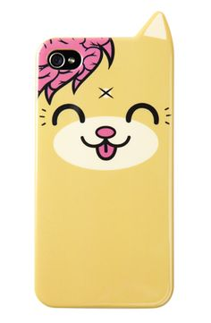 Kitty Ear - iPhone Case, Drop Dead Clothing... This is so adorable!!!! I wonder if they have it for iPods...