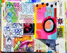 Circles page by Tammy Garcia of Daisy Yellow