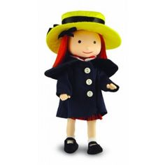 Poseable Madeline Doll - A favourite book, film and tv character.