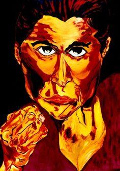 Saatchi Online Artist CARMEN LUNA (SOLD)Painting, 34-Temperamento ( Sara Baras) www.saatchionline.com/art-collection/Painting-Mixed-Media/Expresiones-de-CARMEN-LUNA/71968/25377/view