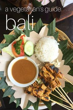The Ultimate Vegetarian Guide to Bali, Indonesia