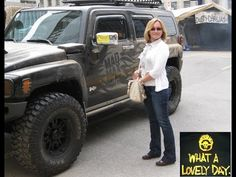 Hummer H3 at MAD MAX FURY ROAD Dusty Car Wash promotion in Toronto