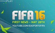 http://www.durmaplay.com/News/28-mayista-fifa-16-resmi-tanitimi-yapilacak   1993 yilindan bu yana futbol simülasyon ve spor oyunu dendiginde ilk akla gelen isimlerden birisi olan FIFA serisi yeni oyunu FIFA 16 ile yola devam etmeye hazirlaniyor  Son olarak 23 Eylül 2014 tarihinde serinin 22