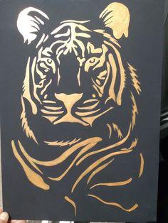 Altın yaldız aslan