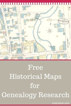 It's all about location! Using historical maps will boost your genealogy research. Place your ancestors on the map! #genealogy #historicalmaps #ancestors