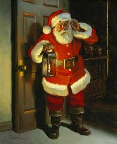 Santa BE CAREFUL MAKE SURE EVERYONE IS FAST ASLEEP