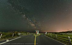 Vía Láctea en el parking de Nauset, Cape Cod