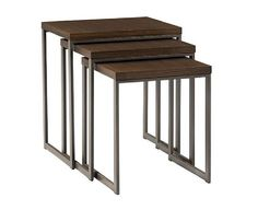 2 Conal Nesting Tables - Living Room