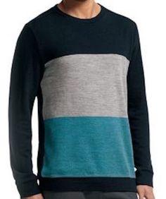 24513c285af Icebreaker Merino Wool Escape Long Sleeve Crew Sweater Size XL NWT # Icebreaker #sweatshirtcrew