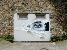 street art - would love this on my garage door.