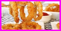 weight watchers best recipes | Crispy Onion Rings - weight watchers recipes