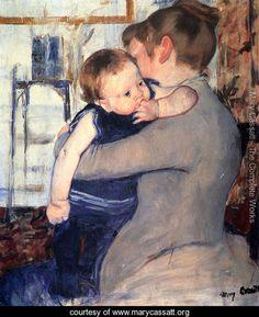 """Mother And Child"" ~ Mary Cassatt"