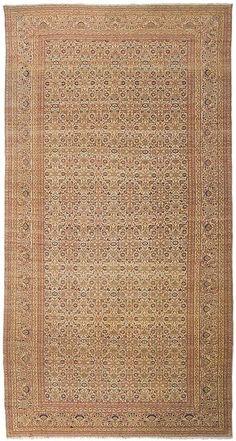 "Tabriz 8'9"" x 17'2"" Circa 1880 Northwest Persia Ref no. 4721 {rugs, carpets, traditional, home collection, decor, warp & weft}"