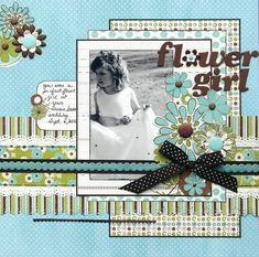Flower Girl----I can't wait to do this one of Liberty from Kendall's wedding