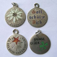 Lucky German charms.